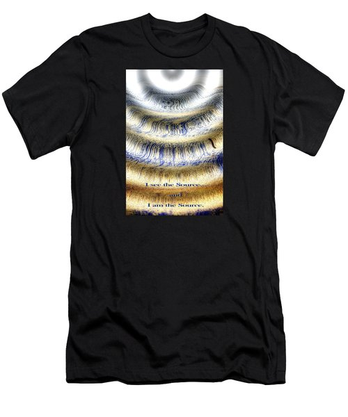 Seeing The Source Men's T-Shirt (Athletic Fit)