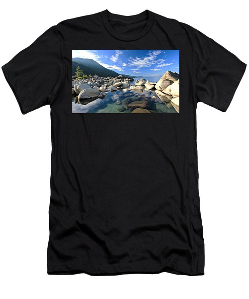 Men's T-Shirt (Athletic Fit) featuring the photograph  Sekani Morning Glory by Sean Sarsfield