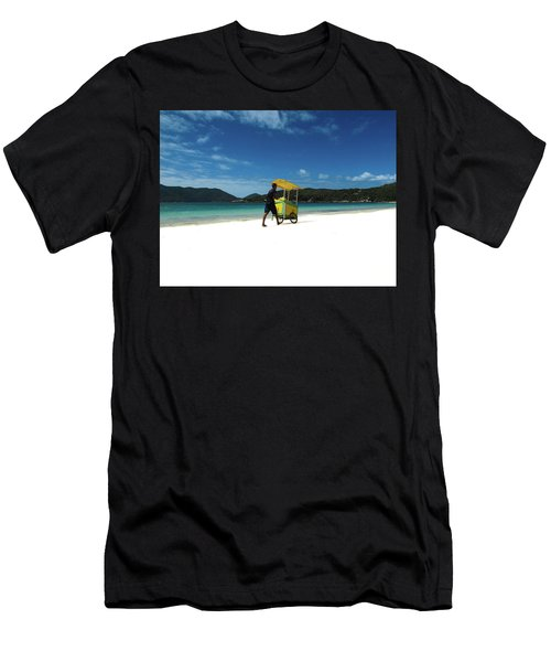 Selling Corn Men's T-Shirt (Athletic Fit)
