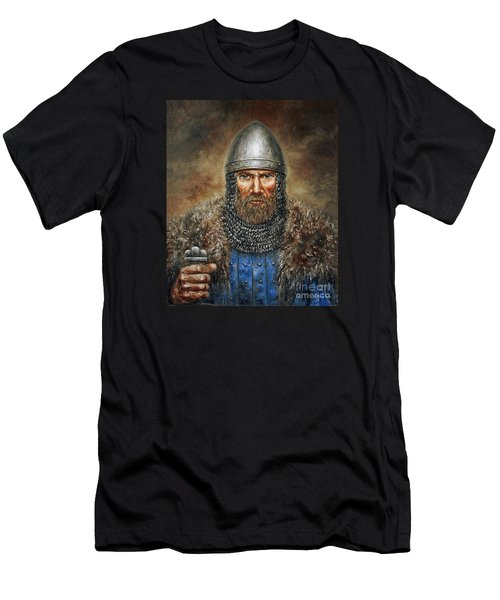 Semigalian Chieftain Men's T-Shirt (Athletic Fit)