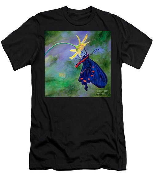 Semperi Swallowtail Butterfly Men's T-Shirt (Athletic Fit)