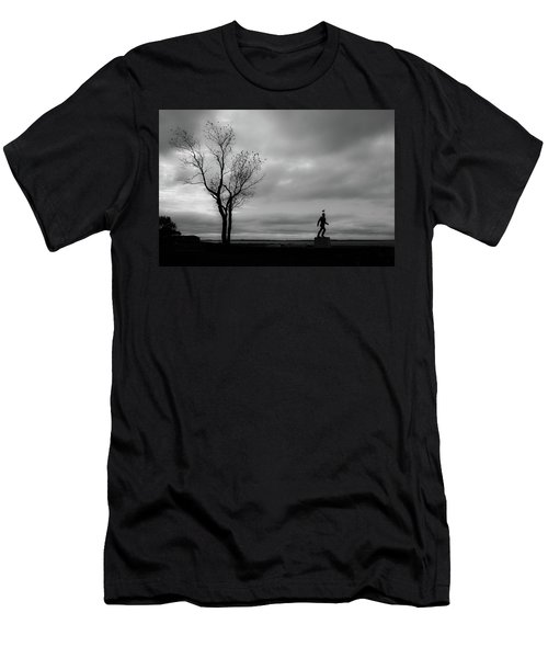 Senator Chafee And The Tree Men's T-Shirt (Athletic Fit)