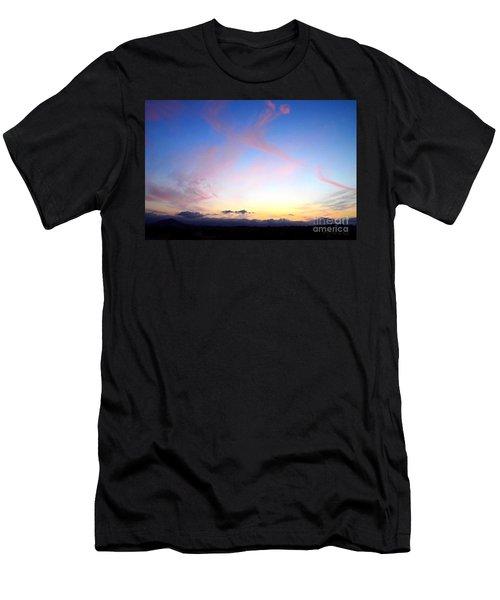 Send Out Your Light Men's T-Shirt (Athletic Fit)