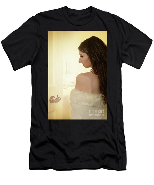 Sensual Woman Men's T-Shirt (Athletic Fit)