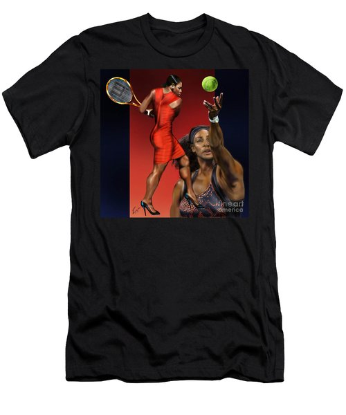 Sensuality Under Extreme Power - Serena The Shape Of Things To Come Men's T-Shirt (Athletic Fit)