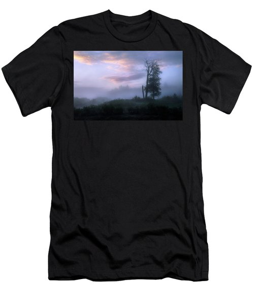 Men's T-Shirt (Slim Fit) featuring the photograph Sentinels In The Valley by Dan Jurak