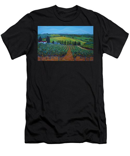Sentrees Of The Grapes Men's T-Shirt (Athletic Fit)