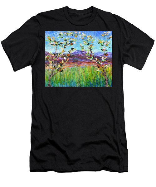 Sentries Diptych Men's T-Shirt (Athletic Fit)