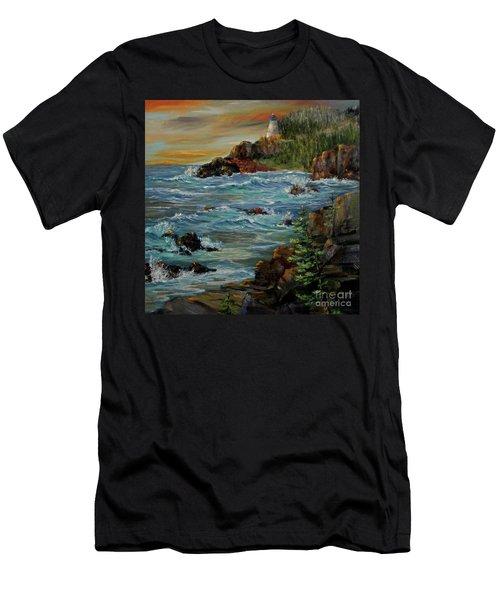Sentry Men's T-Shirt (Slim Fit) by Roseann Gilmore