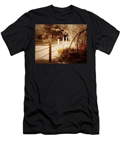 Sepia Garden Men's T-Shirt (Athletic Fit)