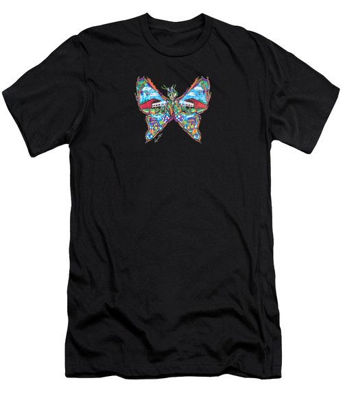 September Butterfly Men's T-Shirt (Athletic Fit)