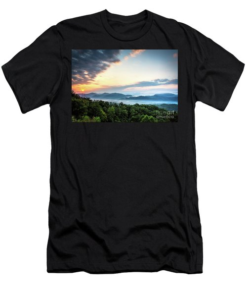 Men's T-Shirt (Slim Fit) featuring the photograph September Sunrise by Douglas Stucky