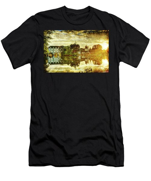 September Sunset In Chenonceau - Vintage Version Men's T-Shirt (Athletic Fit)