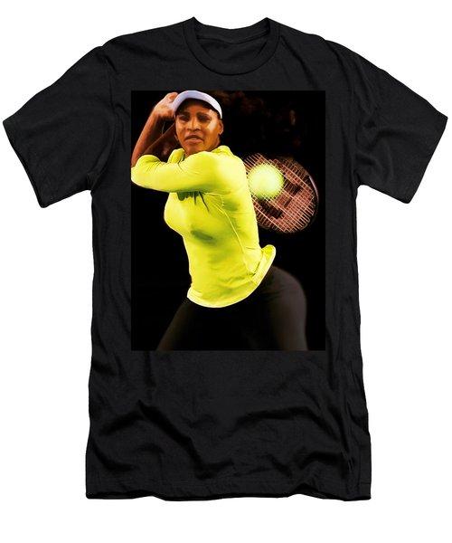 Serena Williams Bamm Men's T-Shirt (Athletic Fit)
