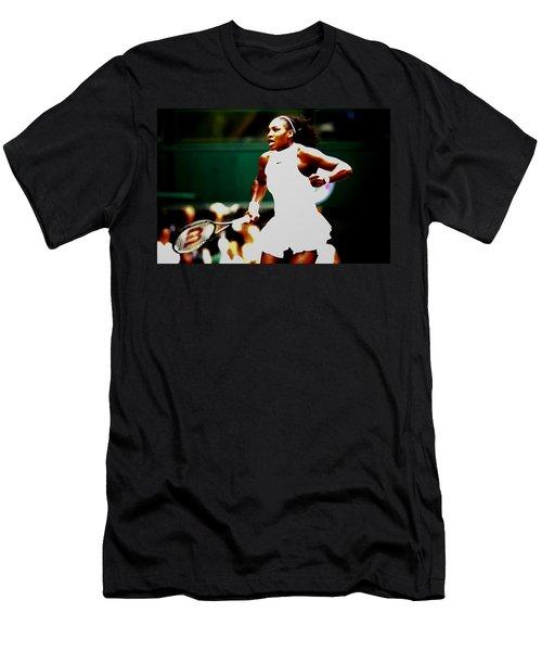 Serena Williams Making History Men's T-Shirt (Athletic Fit)