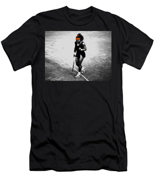 Serena Williams Match Point 3a Men's T-Shirt (Athletic Fit)