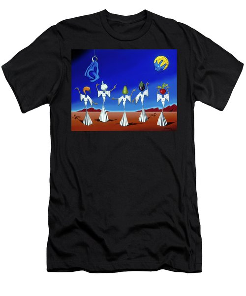 Serenade Of The Sisters Men's T-Shirt (Athletic Fit)