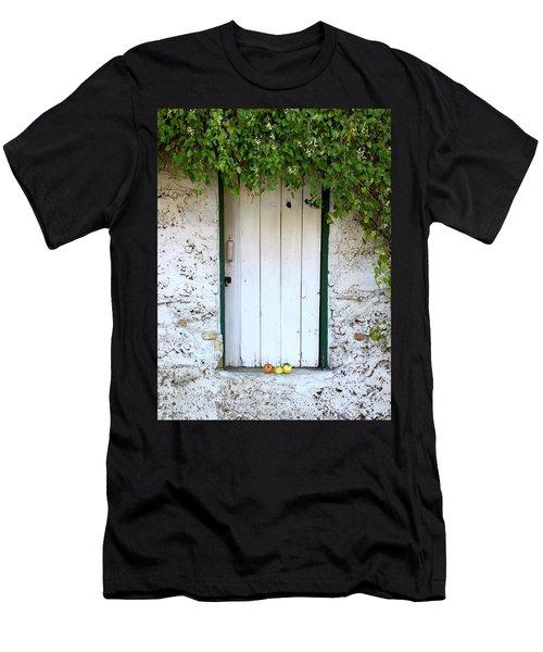 Serendipitous Door Men's T-Shirt (Slim Fit) by Russell Keating