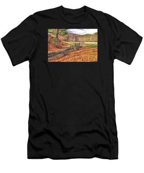 Serene Lake Men's T-Shirt (Athletic Fit)