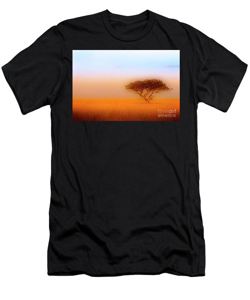 Men's T-Shirt (Athletic Fit) featuring the photograph Serengeti by Scott Kemper
