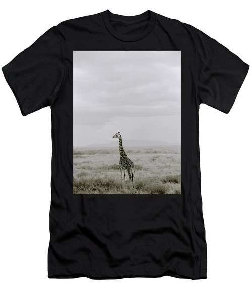 Serengeti Solitude Men's T-Shirt (Slim Fit) by Shaun Higson