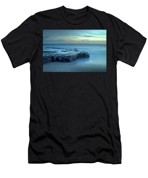 Serenity At The Beach Men's T-Shirt (Athletic Fit)