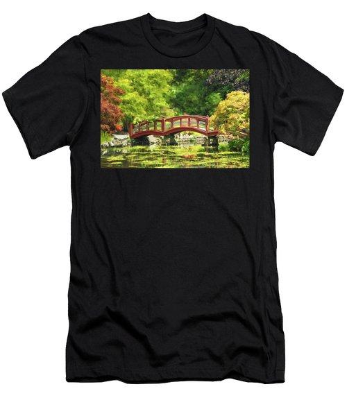 Serenity Bridge II Men's T-Shirt (Athletic Fit)
