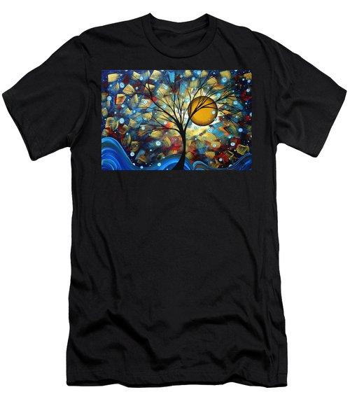Serenity Falls By Madart Men's T-Shirt (Athletic Fit)