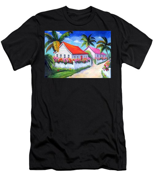 Serenity In Paradise Men's T-Shirt (Athletic Fit)