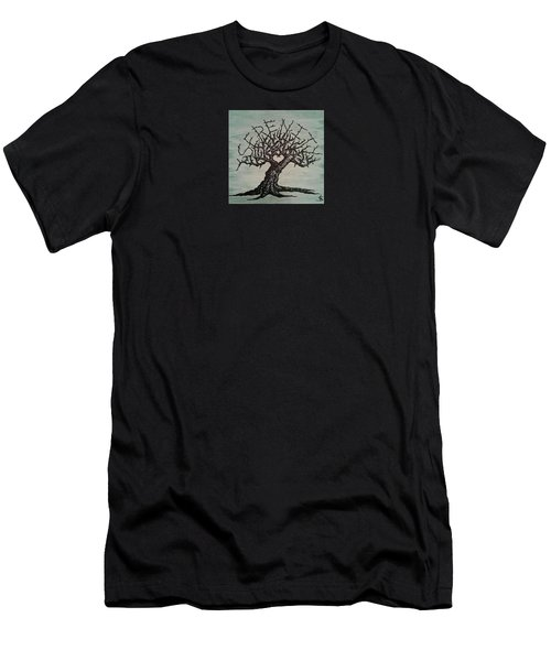 Serenity Love Tree Men's T-Shirt (Athletic Fit)