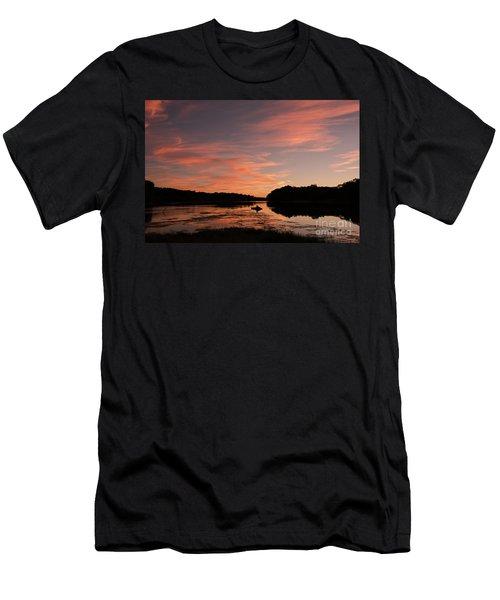 Serenity Men's T-Shirt (Slim Fit) by Nicki McManus
