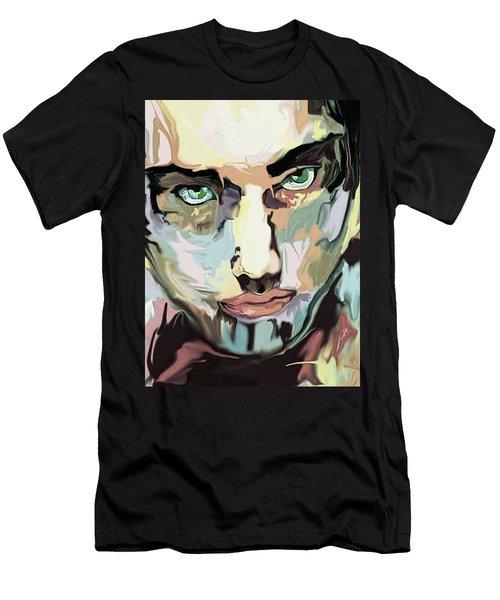 Serious Face Men's T-Shirt (Athletic Fit)