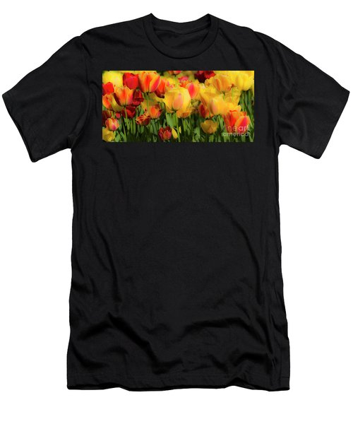 Men's T-Shirt (Athletic Fit) featuring the photograph Seriously Spring by Wendy Wilton