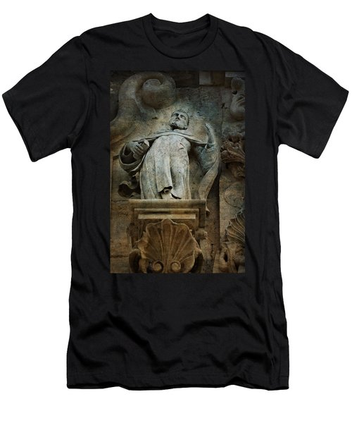 Sermon In Stone Men's T-Shirt (Athletic Fit)