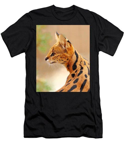 Serval - Extreme Hunter Men's T-Shirt (Athletic Fit)