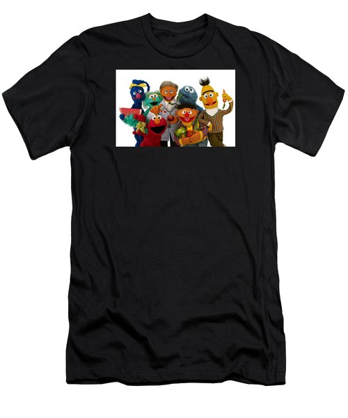 Sesame Street Men's T-Shirt (Athletic Fit)
