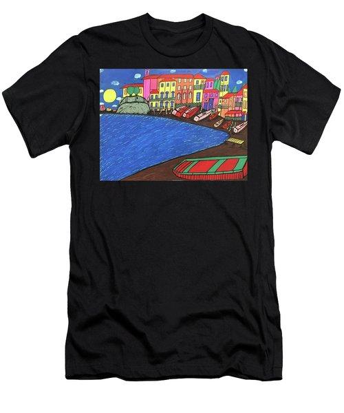 Sestri Levante Italy Men's T-Shirt (Athletic Fit)