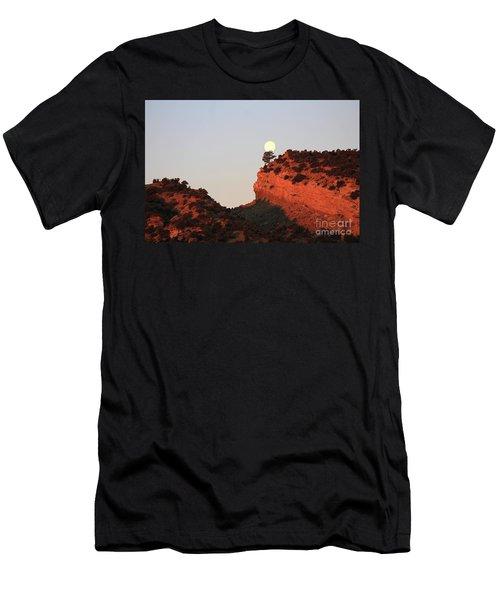 Setting Full Moon Men's T-Shirt (Athletic Fit)