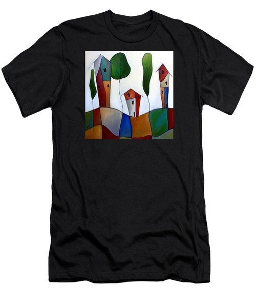 Settling Down Men's T-Shirt (Athletic Fit)