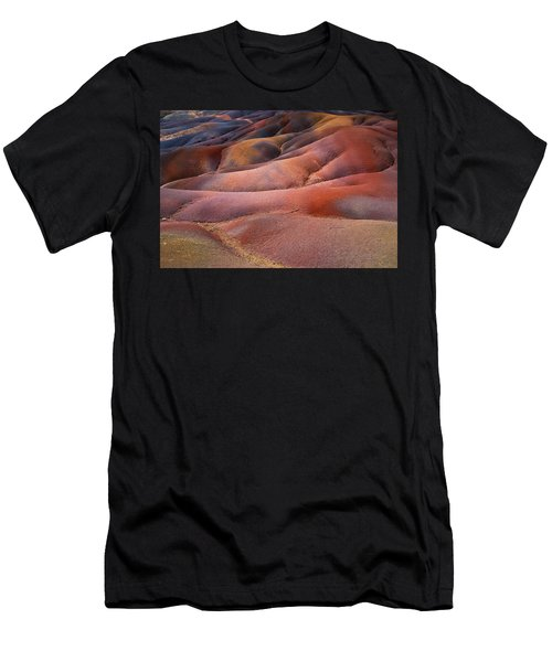 Seven Colored Earth In Chamarel 8. Series Earth Bodyscapes. Mauritius Men's T-Shirt (Athletic Fit)