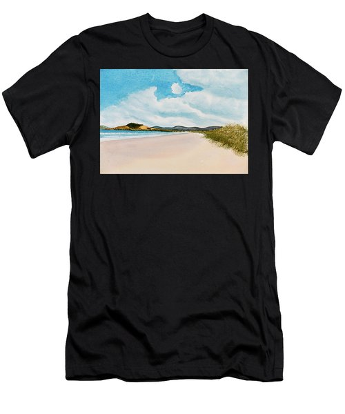 Seven Mile Beach On A Calm, Sunny Day Men's T-Shirt (Athletic Fit)