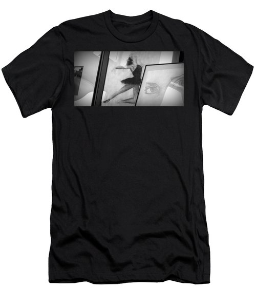 Shades Of Black Men's T-Shirt (Athletic Fit)