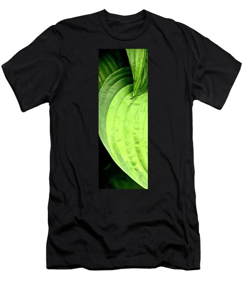 Shades Of Green Men's T-Shirt (Slim Fit) by Jerry Sodorff