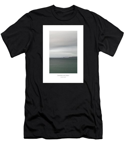 Men's T-Shirt (Athletic Fit) featuring the digital art Shades Of Grey by Julian Perry