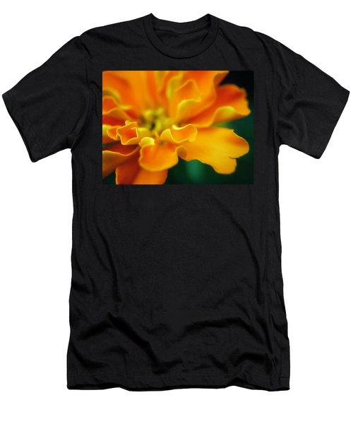 Men's T-Shirt (Slim Fit) featuring the photograph Shades Of Orange by Eduard Moldoveanu