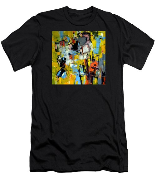 Shades Of Yellow Men's T-Shirt (Athletic Fit)