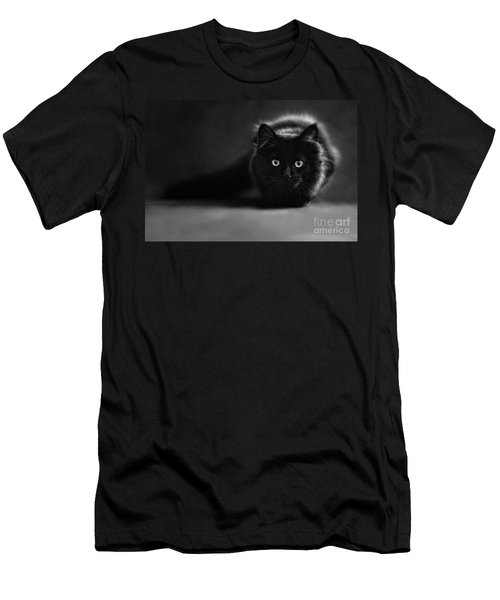 Shadow Cat 2 Men's T-Shirt (Athletic Fit)