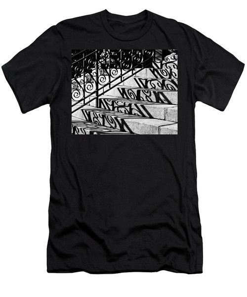 Shadow On The Rotunda Stairs Men's T-Shirt (Athletic Fit)