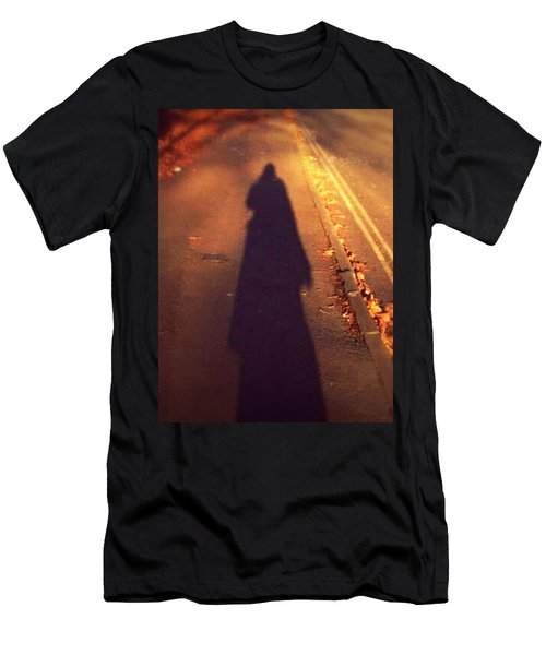 Men's T-Shirt (Slim Fit) featuring the photograph Shadow by Persephone Artworks