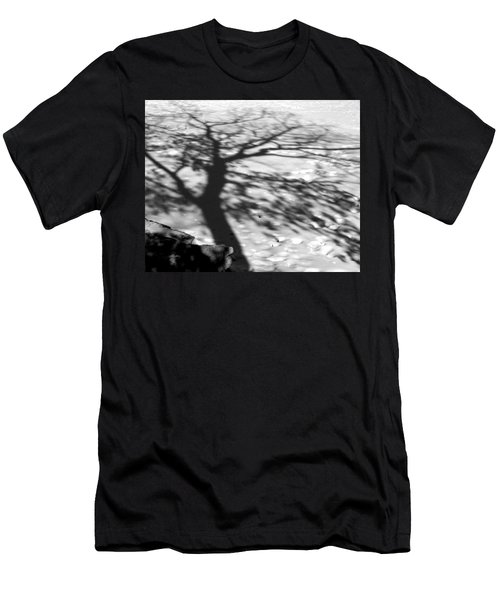 Shadow Tree  Herrick Lake  Naperville Illinois Men's T-Shirt (Athletic Fit)